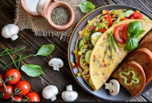 Wege omlet z 3 składników